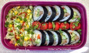 Gotowy Kimbap Sushi Lunchbox